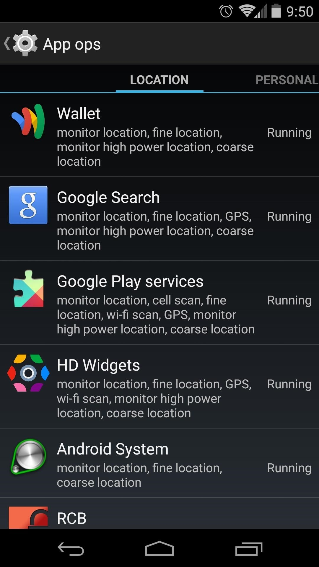 App Ops Is Alive! Add It to Your Nexus 5's Settings Menu for Per-App Permissions Control