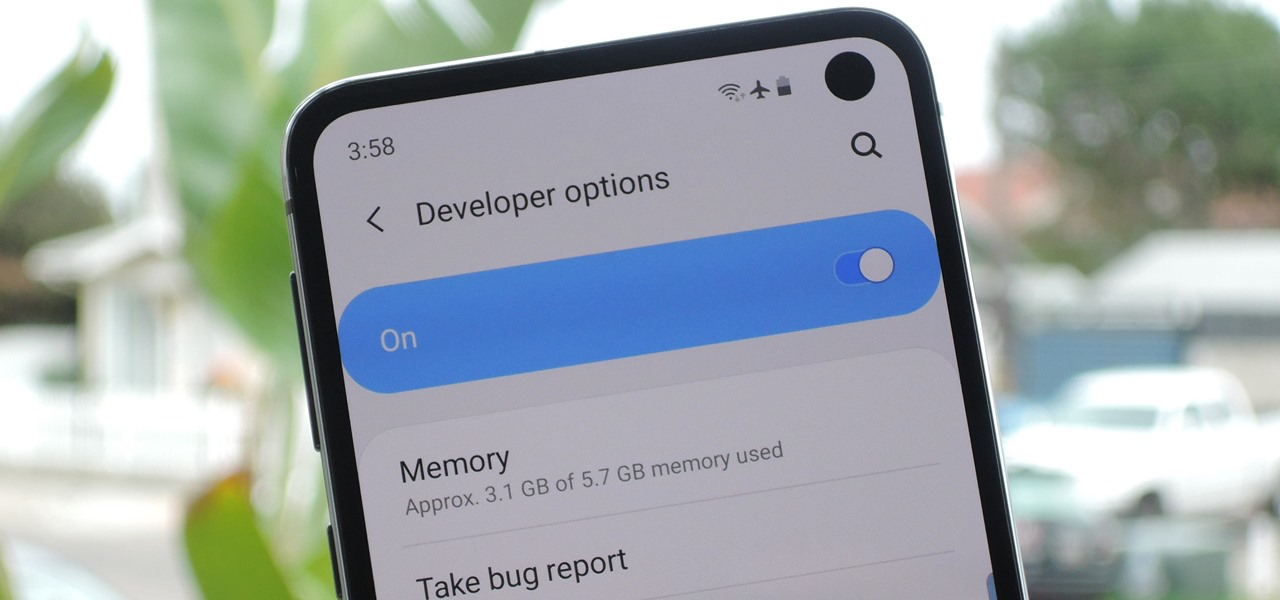 Activate Developer Options on Your Galaxy S10