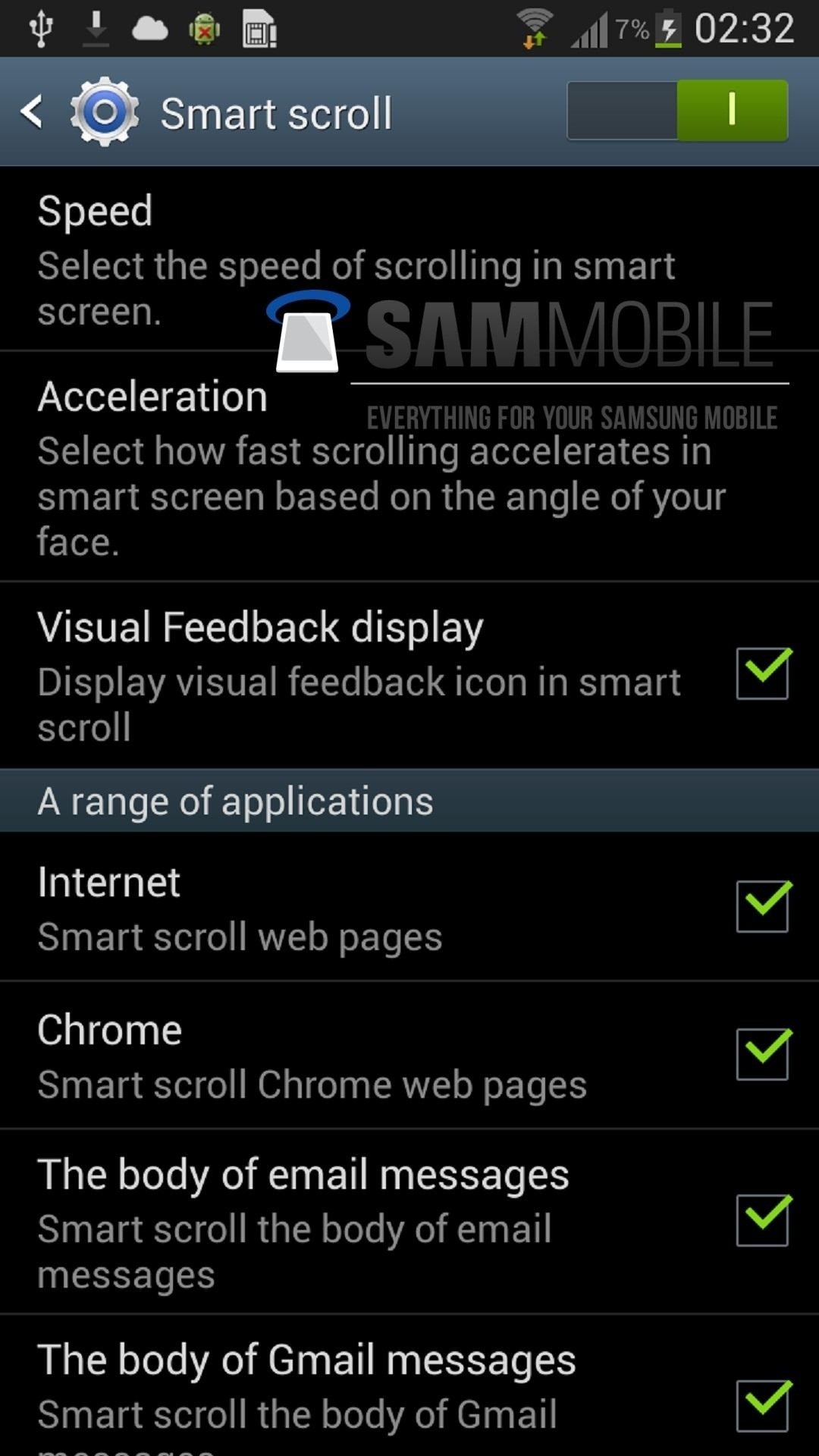 "Leaked Screenshots of the Samsung Galaxy S3 Confirm ""Smart"" Features in GS4"