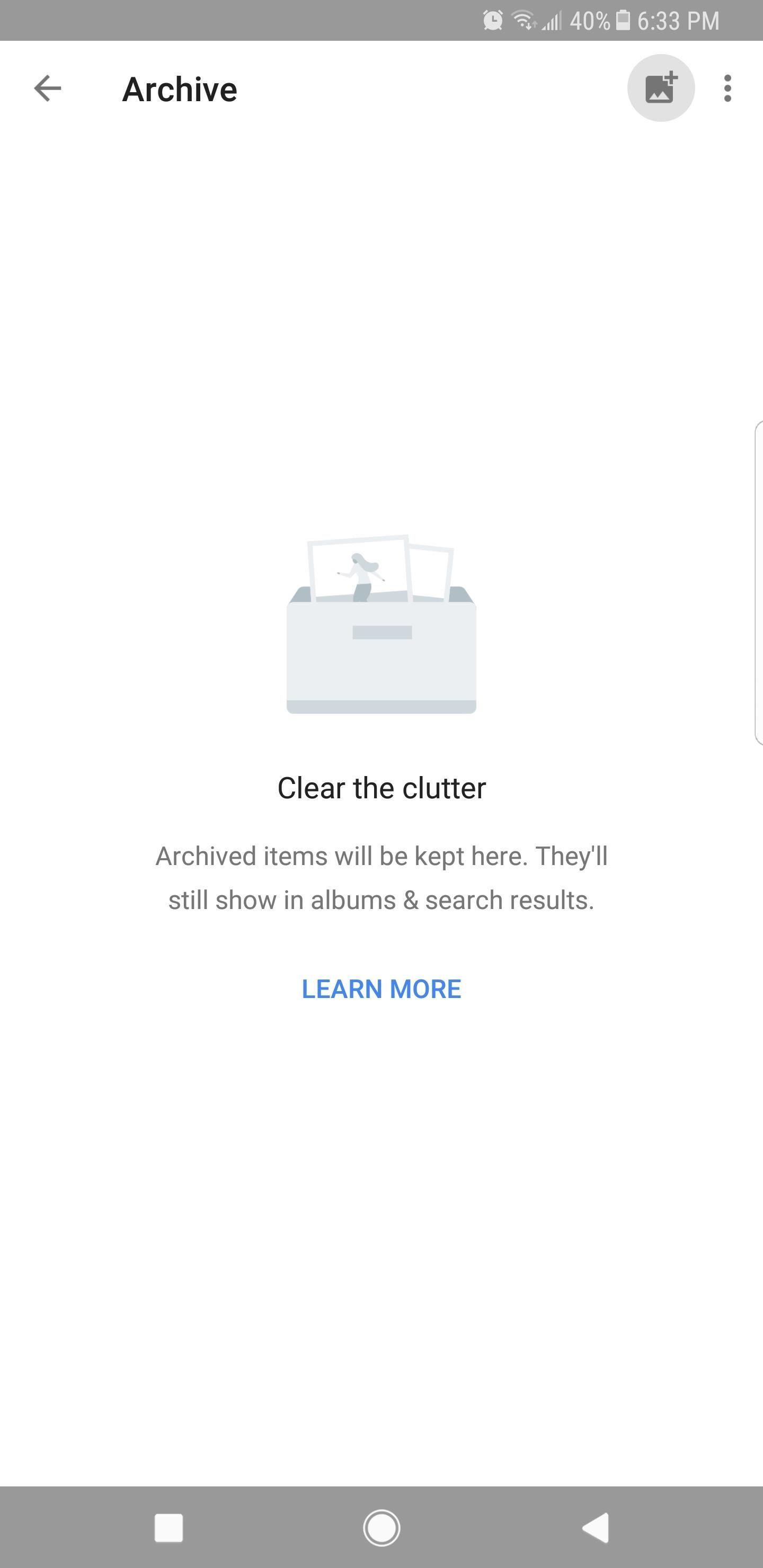 Remove Pictures from the Main Feed in Google Photos — Without Deleting Them