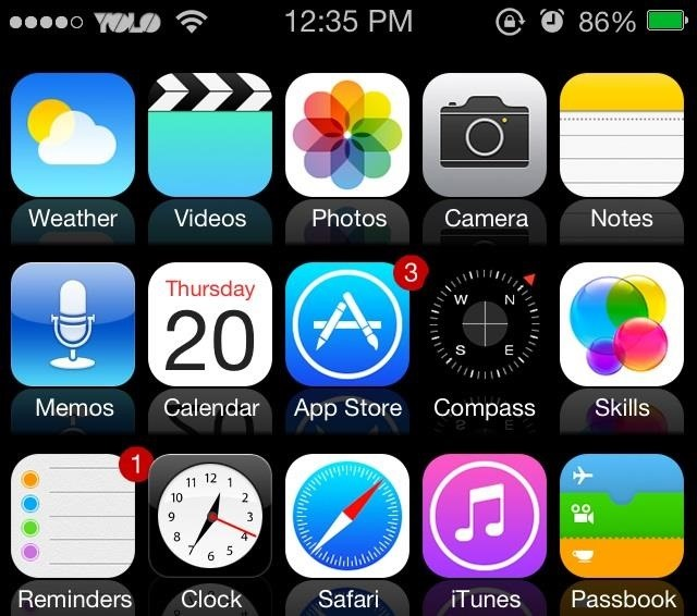 How to Mimic the New iOS 7 Look in iOS 6 on Your Jailbroken iPhone