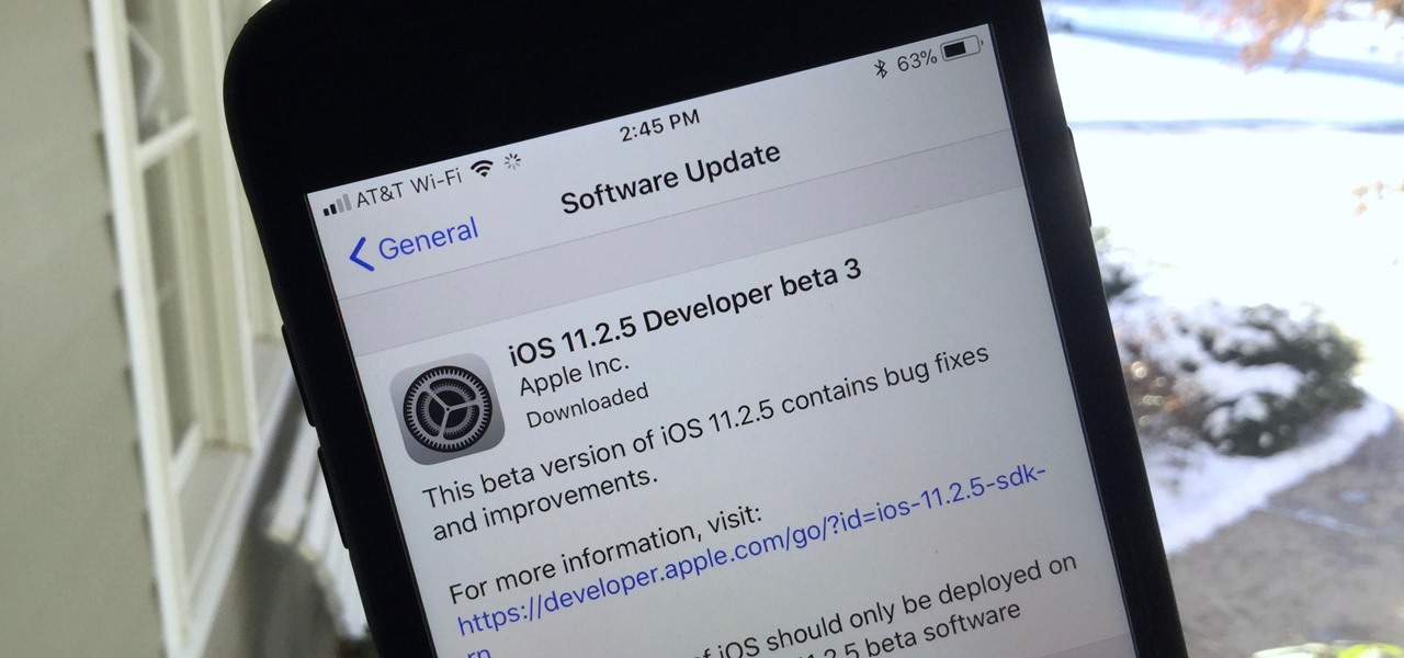 iOS 11.2.5 Beta 3 Released with Increased Volume on Keyboard Clicks & Dial Sounds