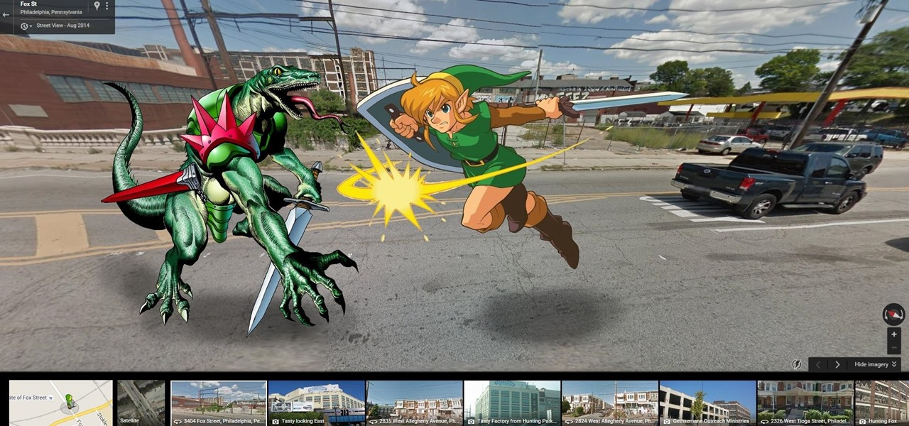 Zelda's Link Comes to Google Maps