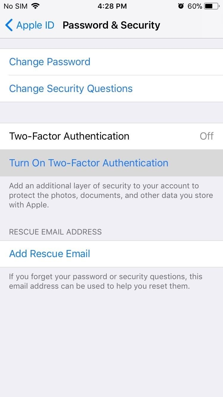 How to Enable or Disable Two-Factor Authentication on Your