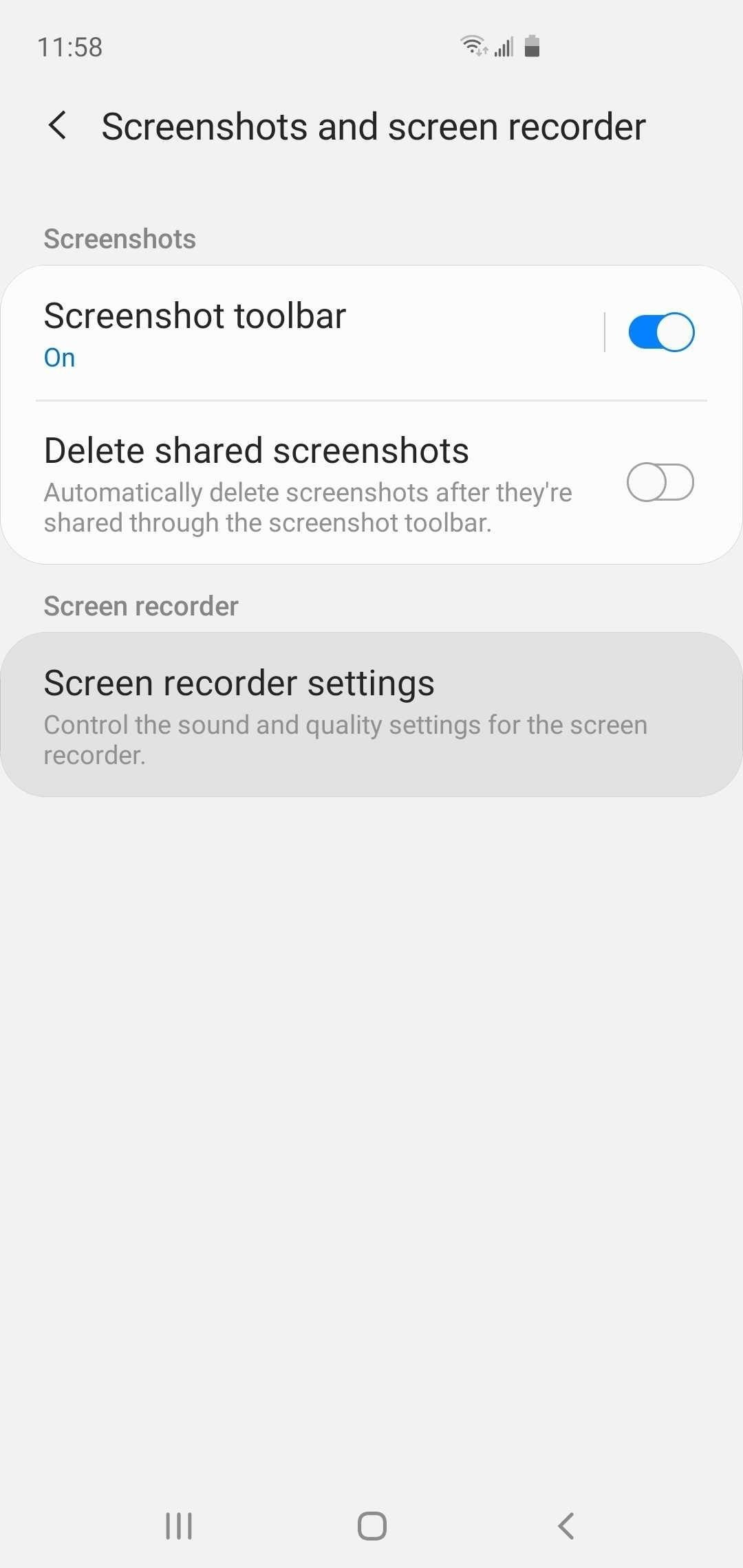 How to Use Samsung's Hidden Screen Recorder on One UI 2