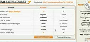 Use MegaUpload links