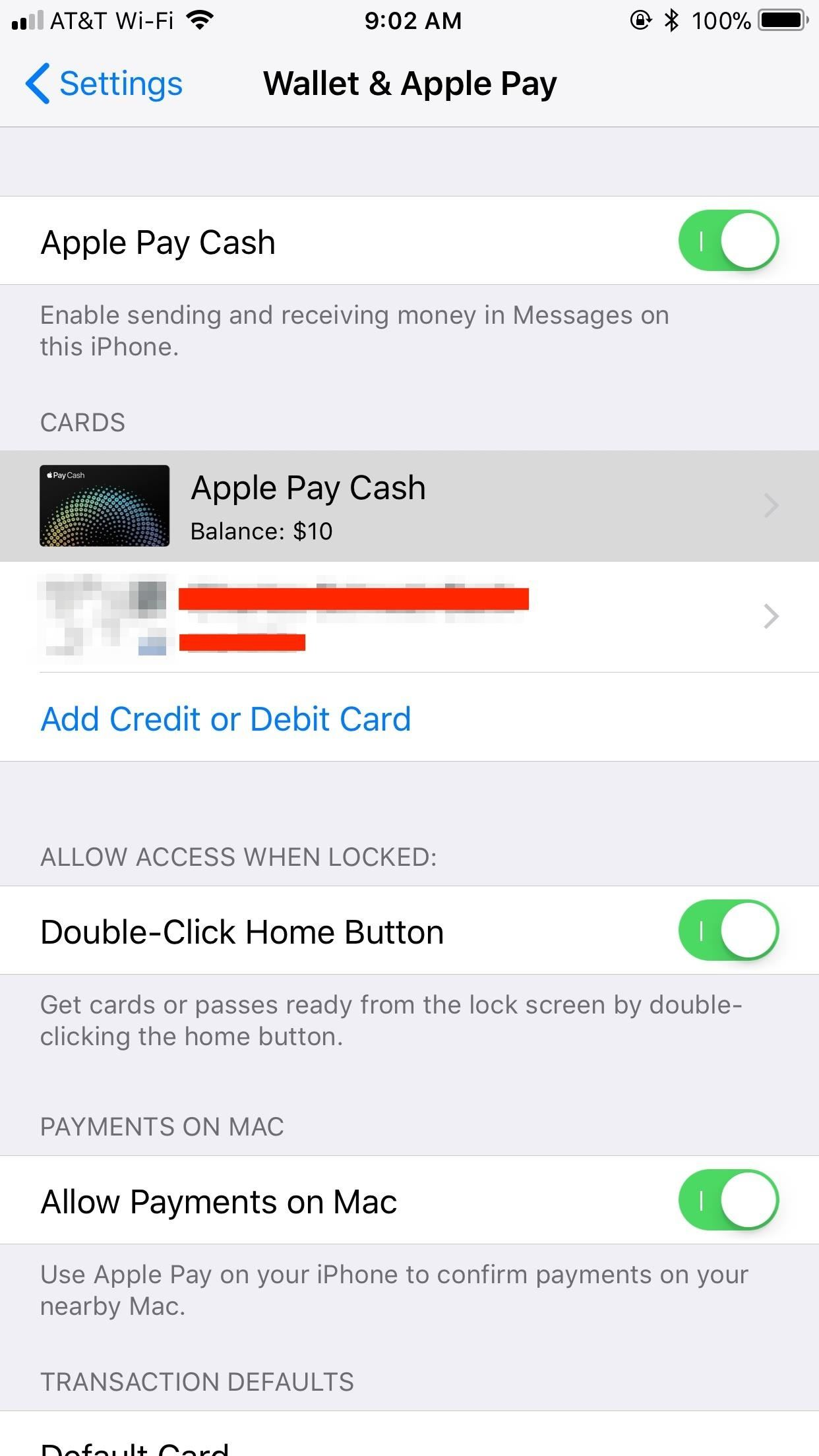 Apple Pay Cash and person to person payments now available