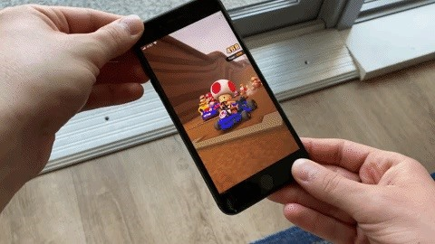 How to Force Mario Kart Tour to Always Use Landscape Mode on Your Phone