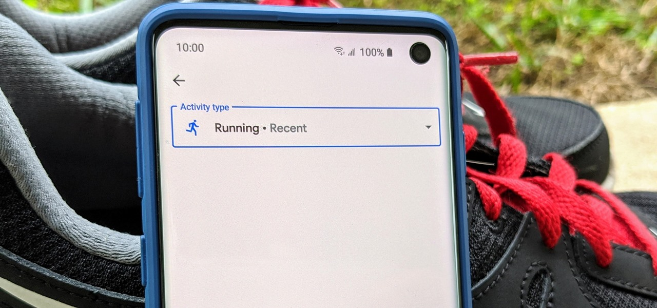 The Fastest Way to Start a Workout with Google Fit