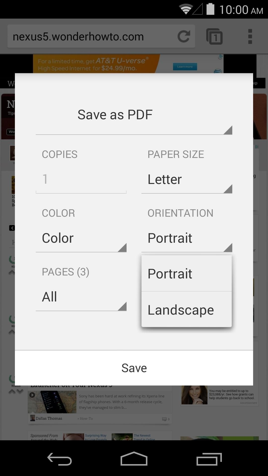 How to Save Webpages for Offline Viewing in Chrome for Android