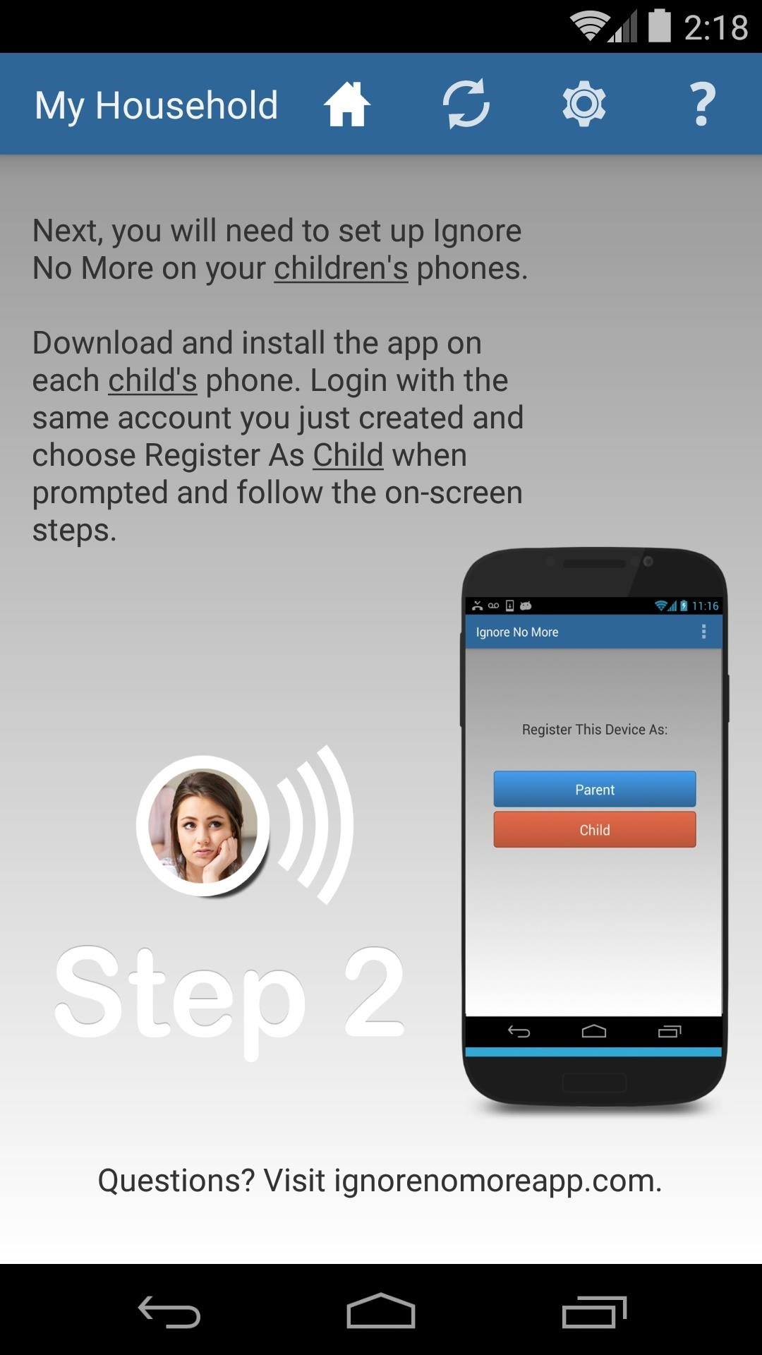 Finally, an App That Forces Your Kids to Answer Your Calls