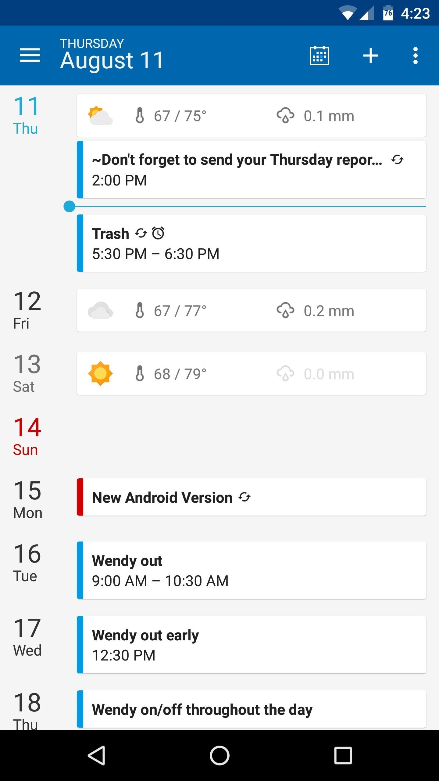 The 5 Best Android Calendar Apps to Replace Your Stock One