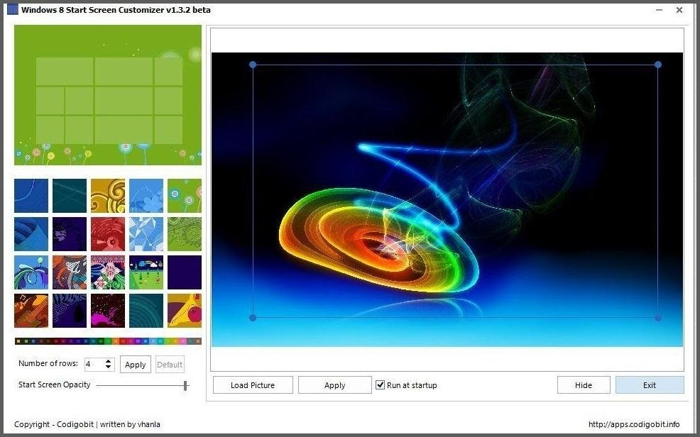 How to Add a Custom Background Image to Your Windows 8 Start