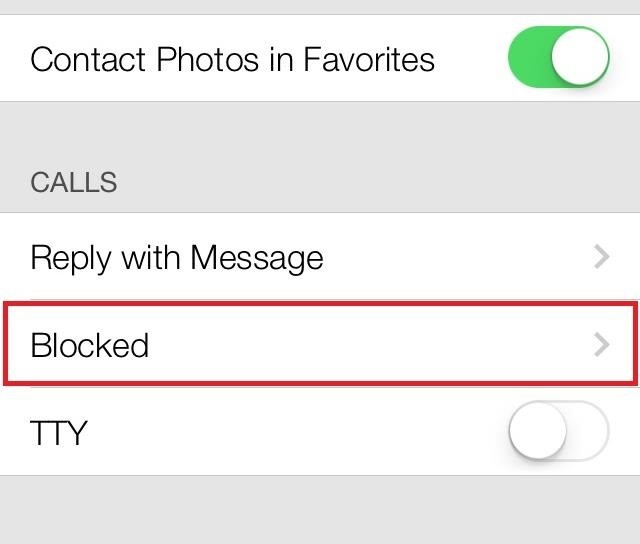 How to Block Any Unwanted Caller's Phone Number on Your iPhone in iOS 7—Even If They're Not in Your Contacts
