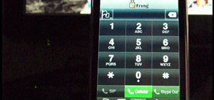 Make international iPod Touch calls