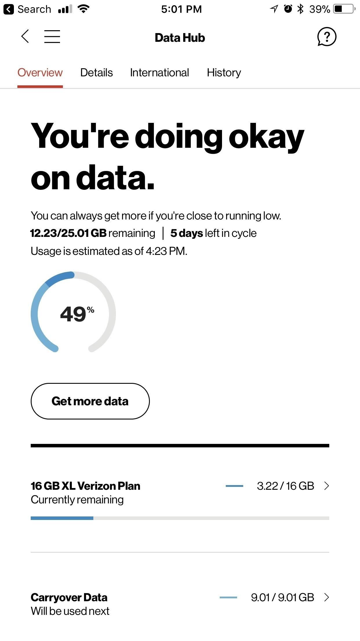 How to Easily View Your Current Cellular Data Usage on Your