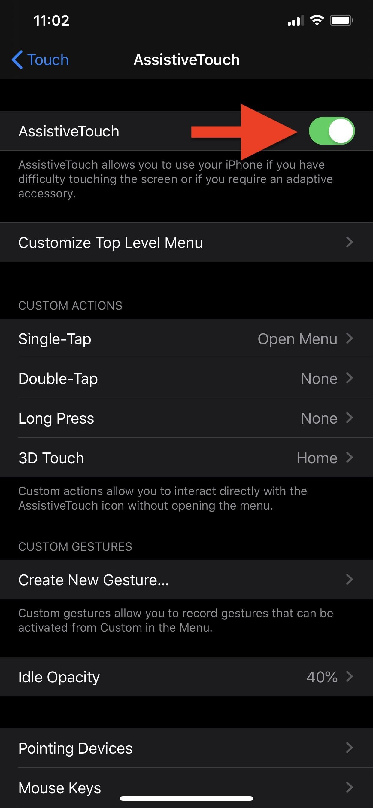 Setting up and using a Bluetooth mouse on your iPhone in iOS 13