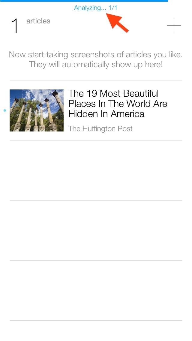Taking Screenshots Is the Fastest Way to Save Full Web Articles for Offline Reading on Your iPhone