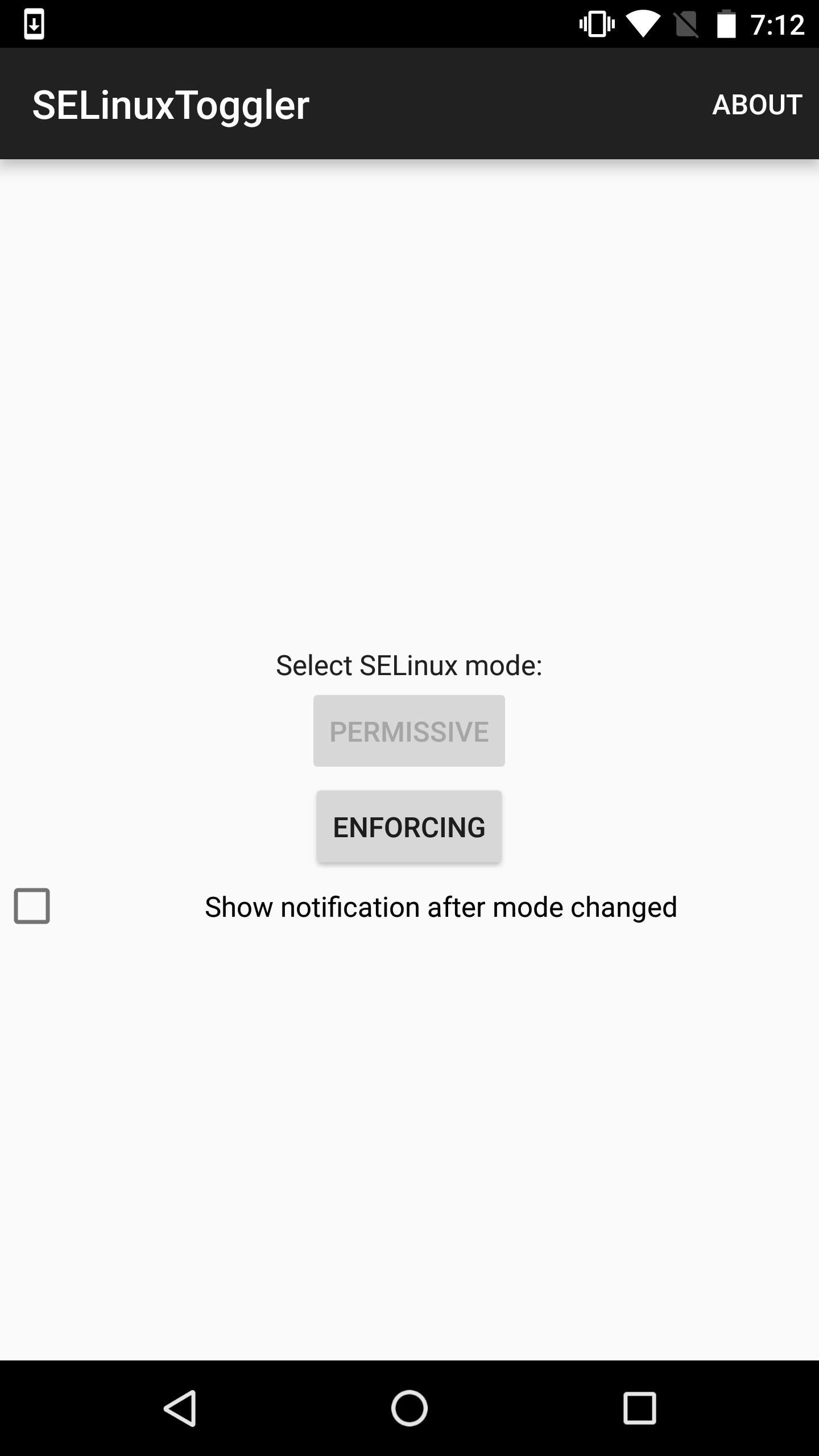 How to Easily Change Your SELinux Mode with This One-Tap App