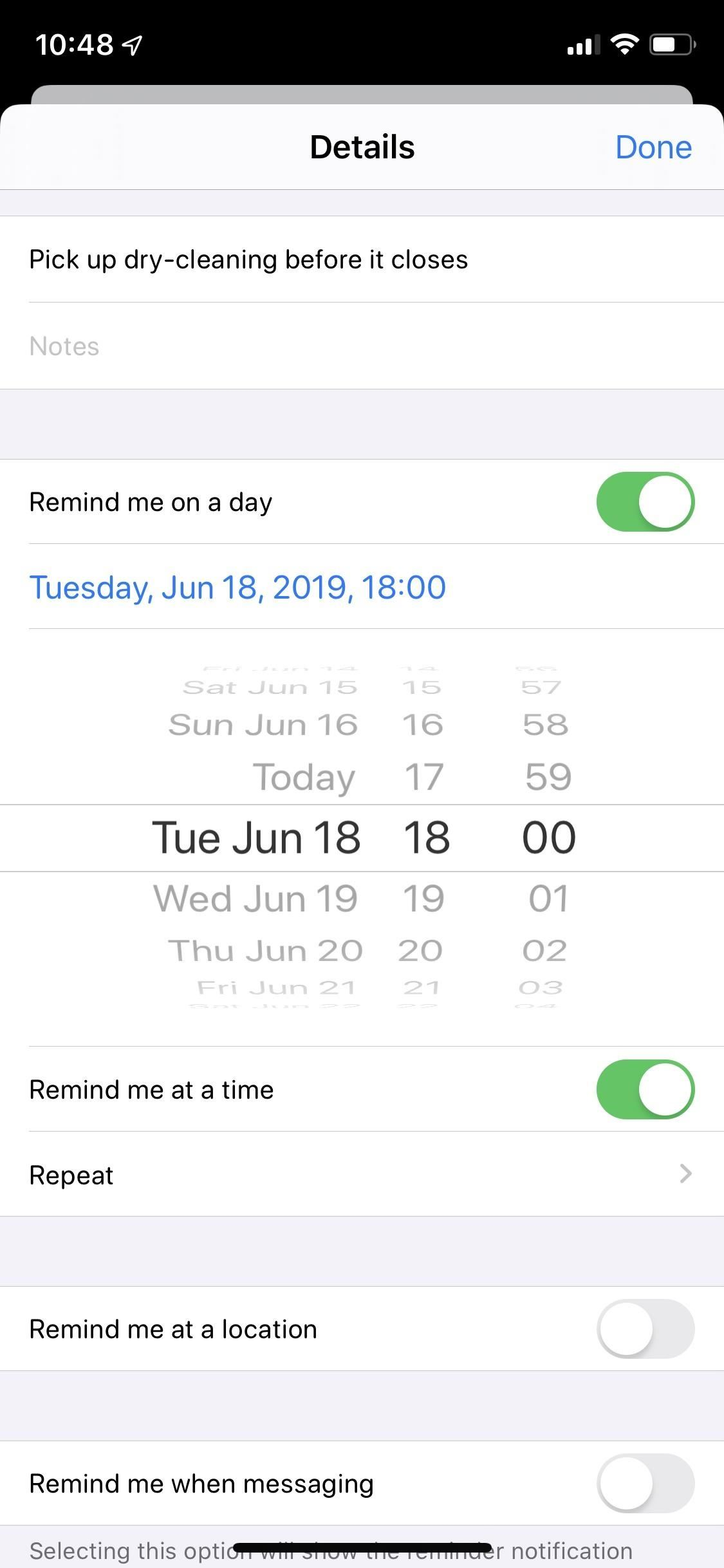 Use Reminder's New Quick Toolbar in iOS 13 to Add Times, Locations, Flags & Images to Tasks