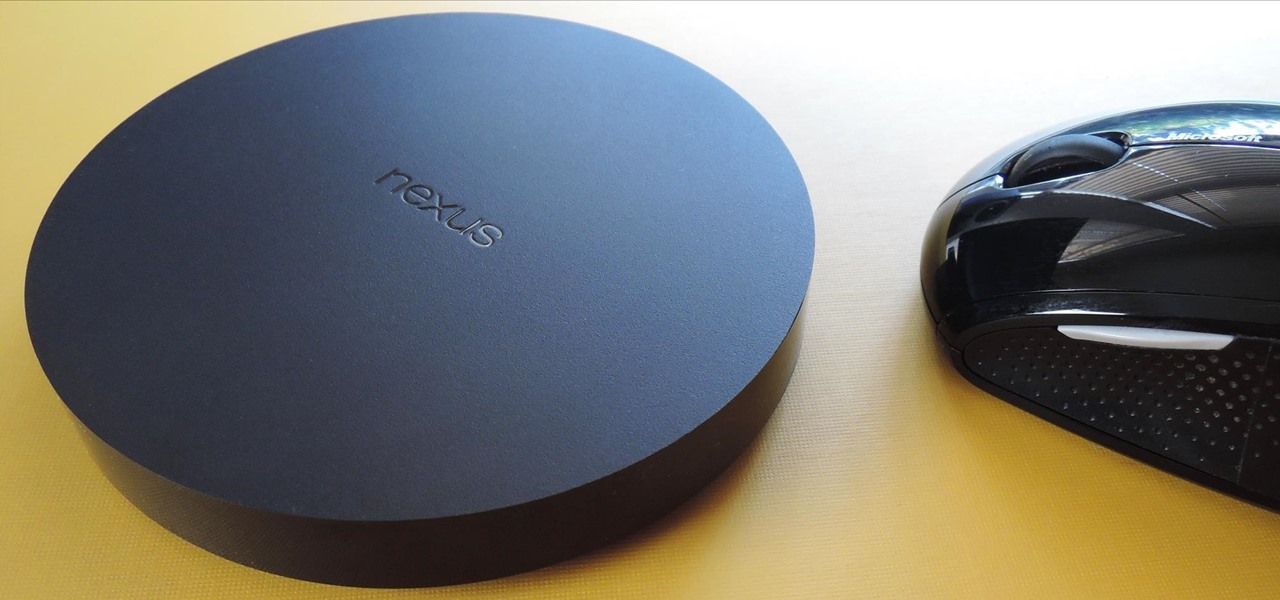 Connect a Mouse to Your Nexus Player