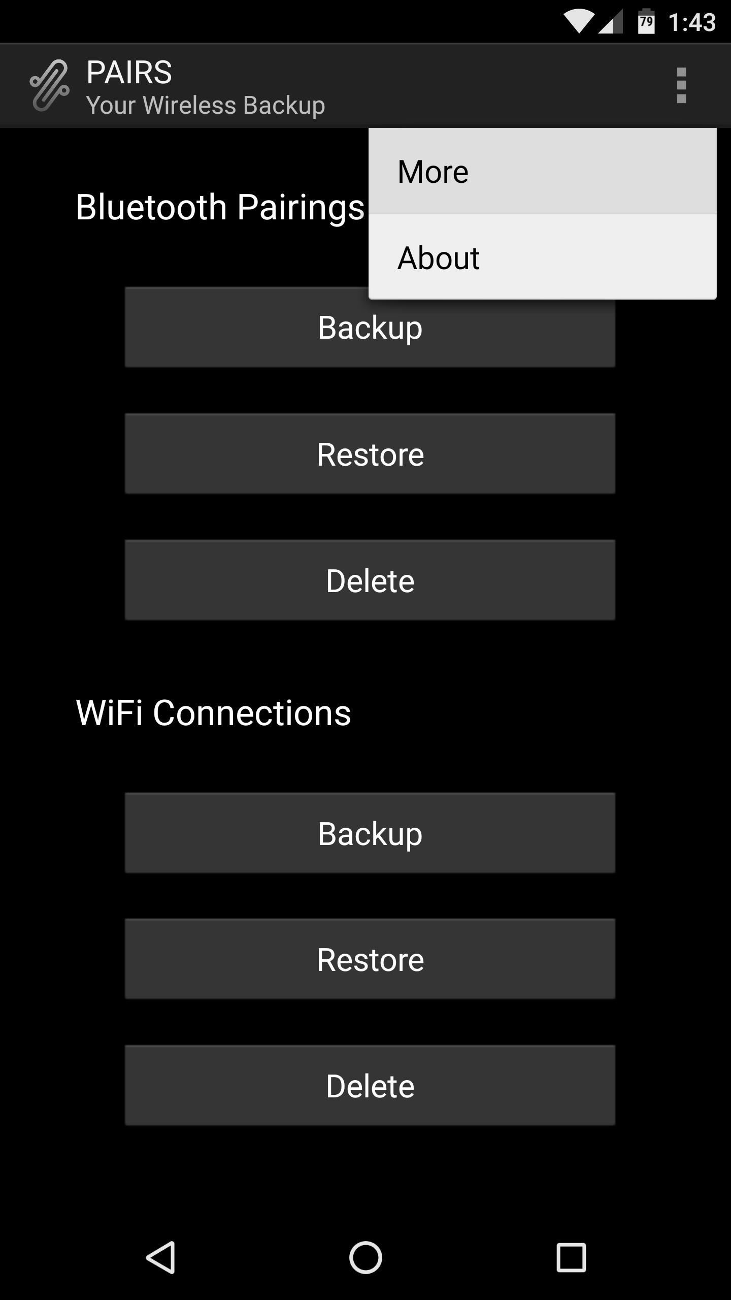 PAIRS Is the Easy Way to Restore Wi-Fi & Bluetooth Connections After Wiping Your Phone