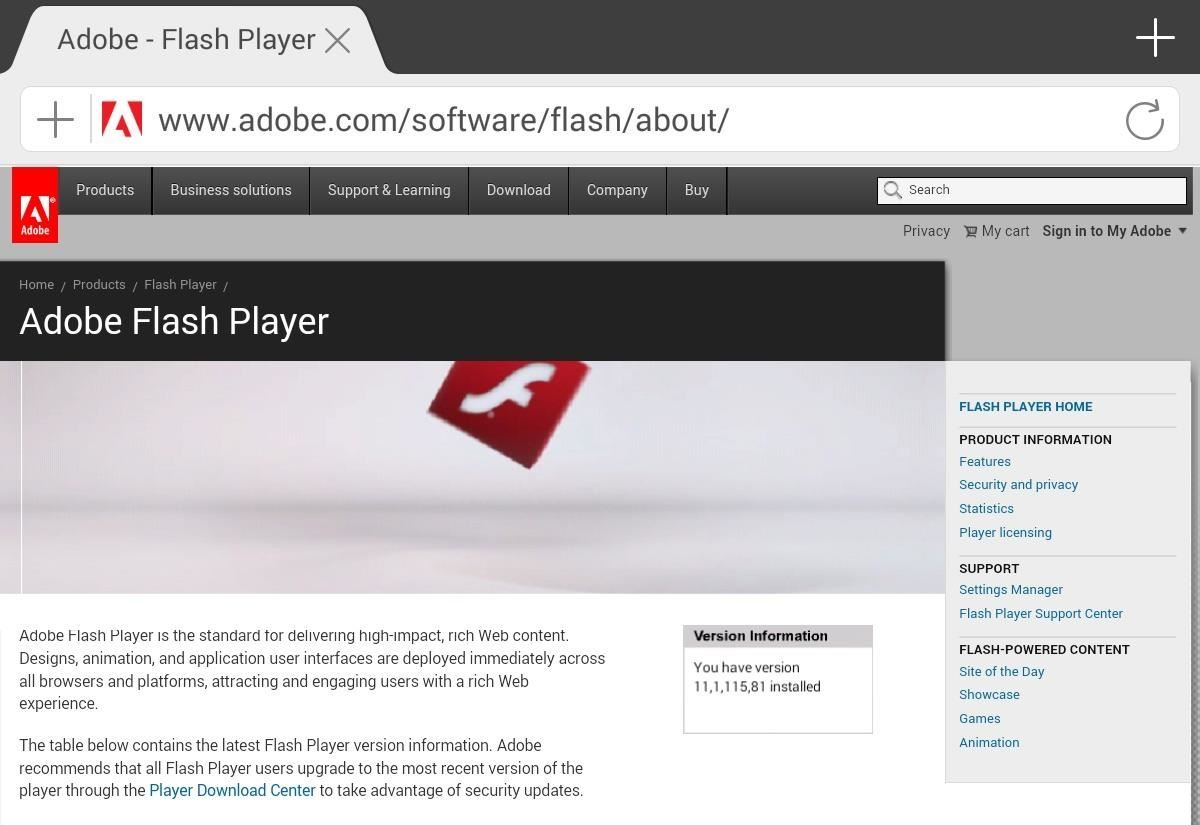How to Install Adobe Flash Player on Your Nexus 7 Running Android 4.4 KitKat