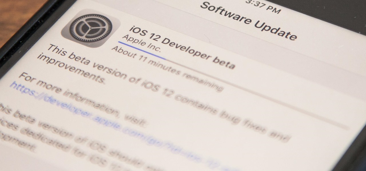Download iOS 12.2 Beta on Your iPhone Right Now