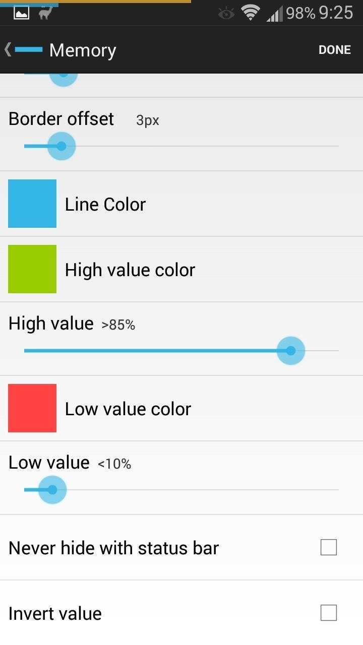 Add Smart Indicators for Battery Temp, Wi-Fi Speeds, & More to Your Galaxy S3's Status Bar
