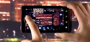 Shoot HD video with the Camcorder app on the Motorola Droid Bionic