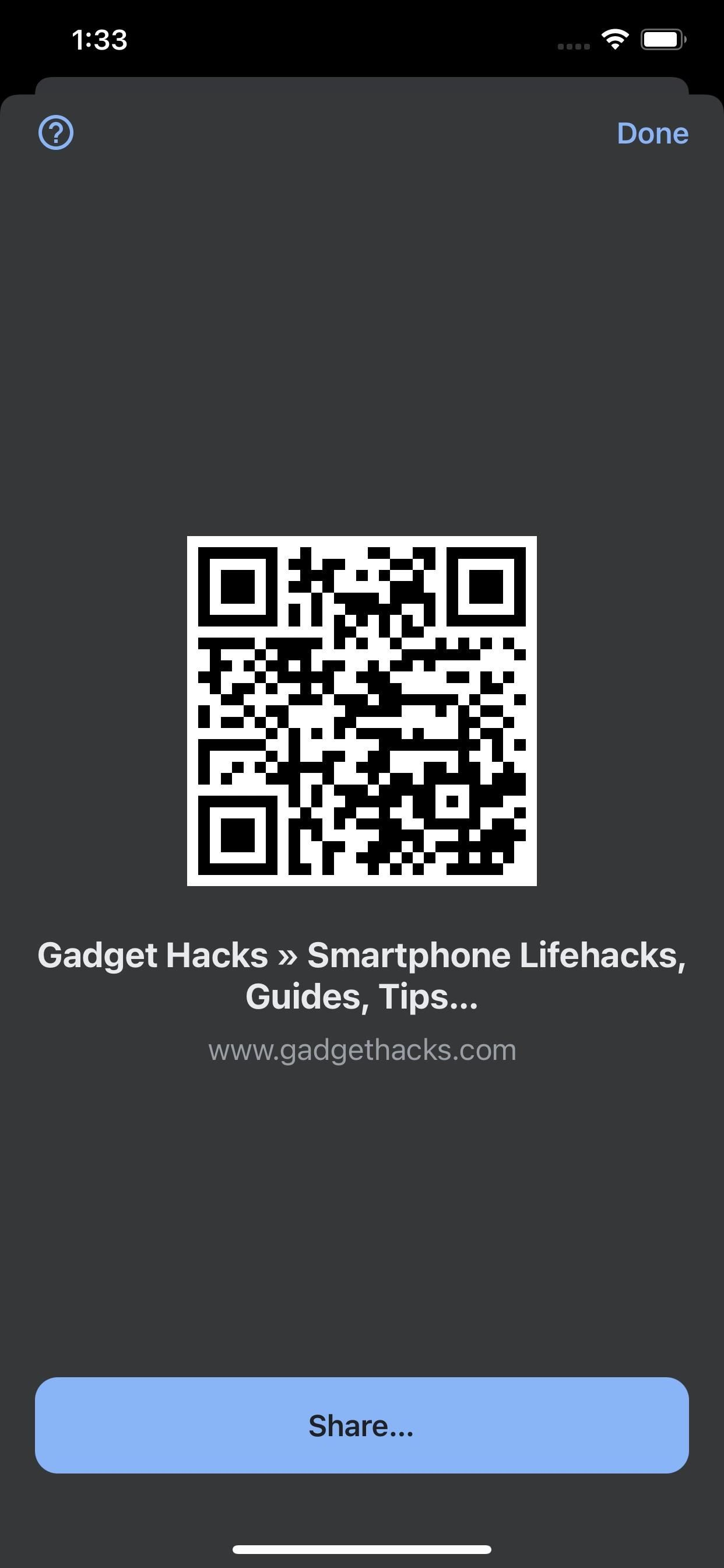 How to Quickly Generate a QR Code for Any Webpage with Google Chrome