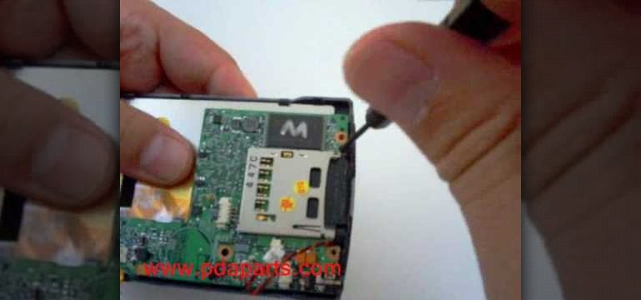 How To: Take Apart HP IPAQ Rz1710