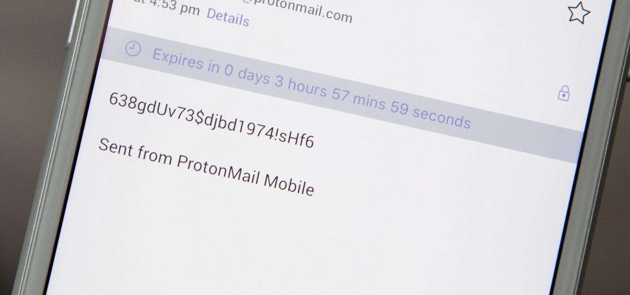 How to Send Self-Destructing Emails