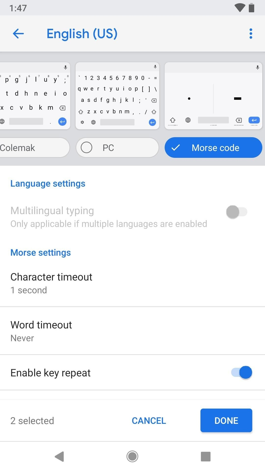 How to Unlock & Use the Morse Code Keyboard in Gboard on Your iPhone or Android Phone