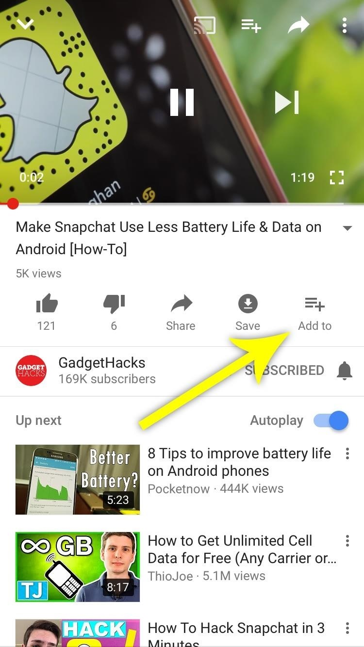 how to add videos to a playlist on youtube