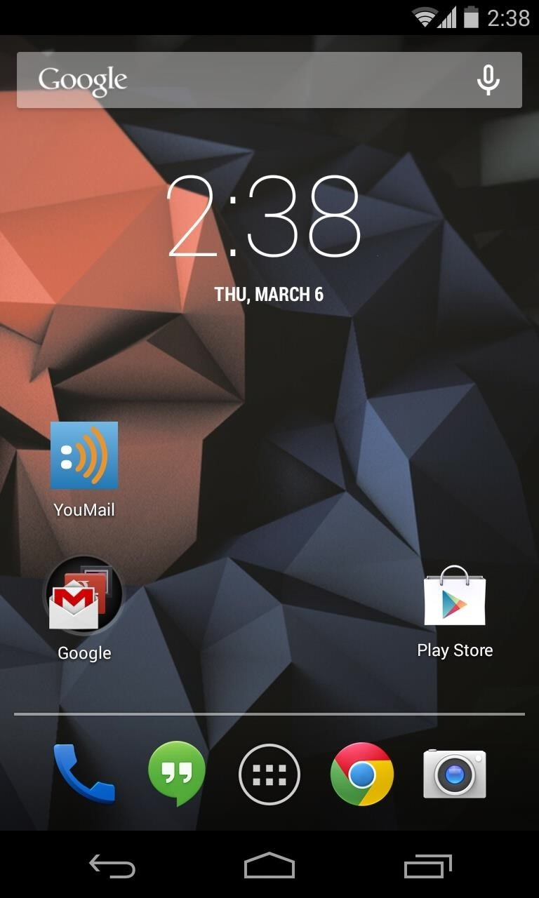How to Mimic Apple's Status Bar Look on Your Nexus 4 or 5