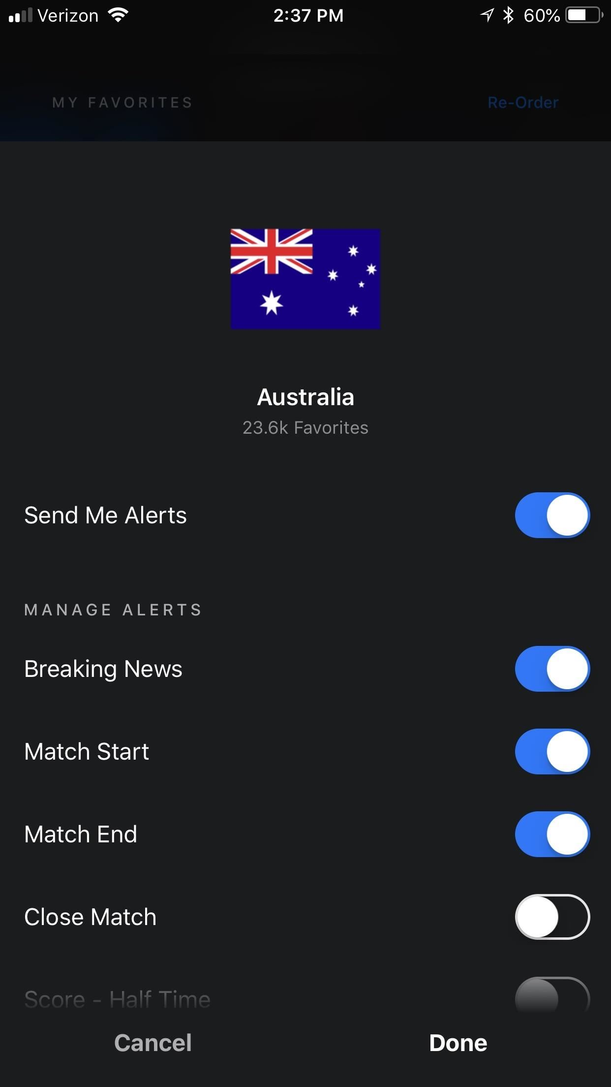 The Best Way to Keep Up with World Cup News & Scores on Your Phone