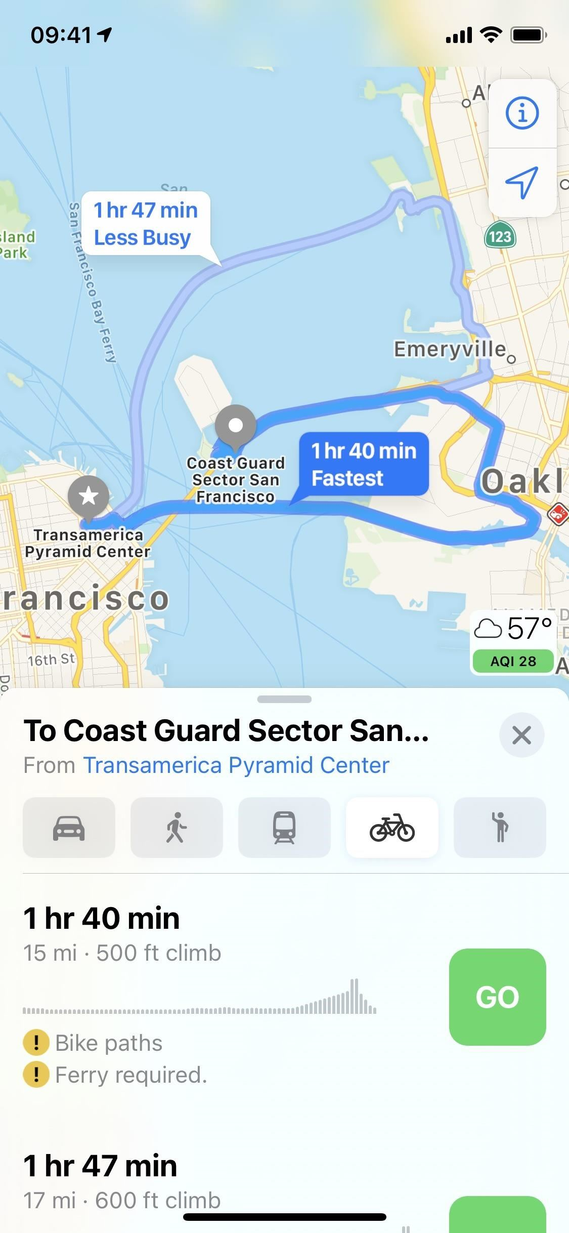 iOS 14 Makes Biking City Roads Better & Safer with Cycling Routes in Apple Maps
