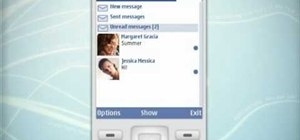 Display, open and reply to Facebook messages on a Nokia C5