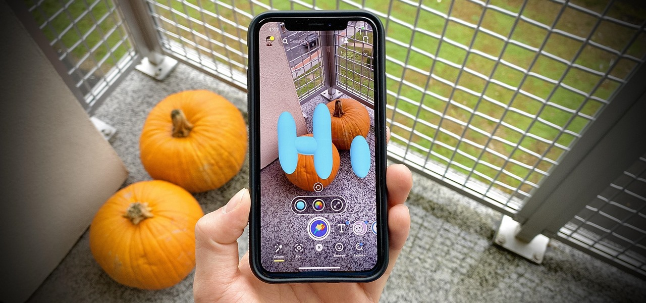 Doodle Over the Real World with Snapchat's 3D Paint