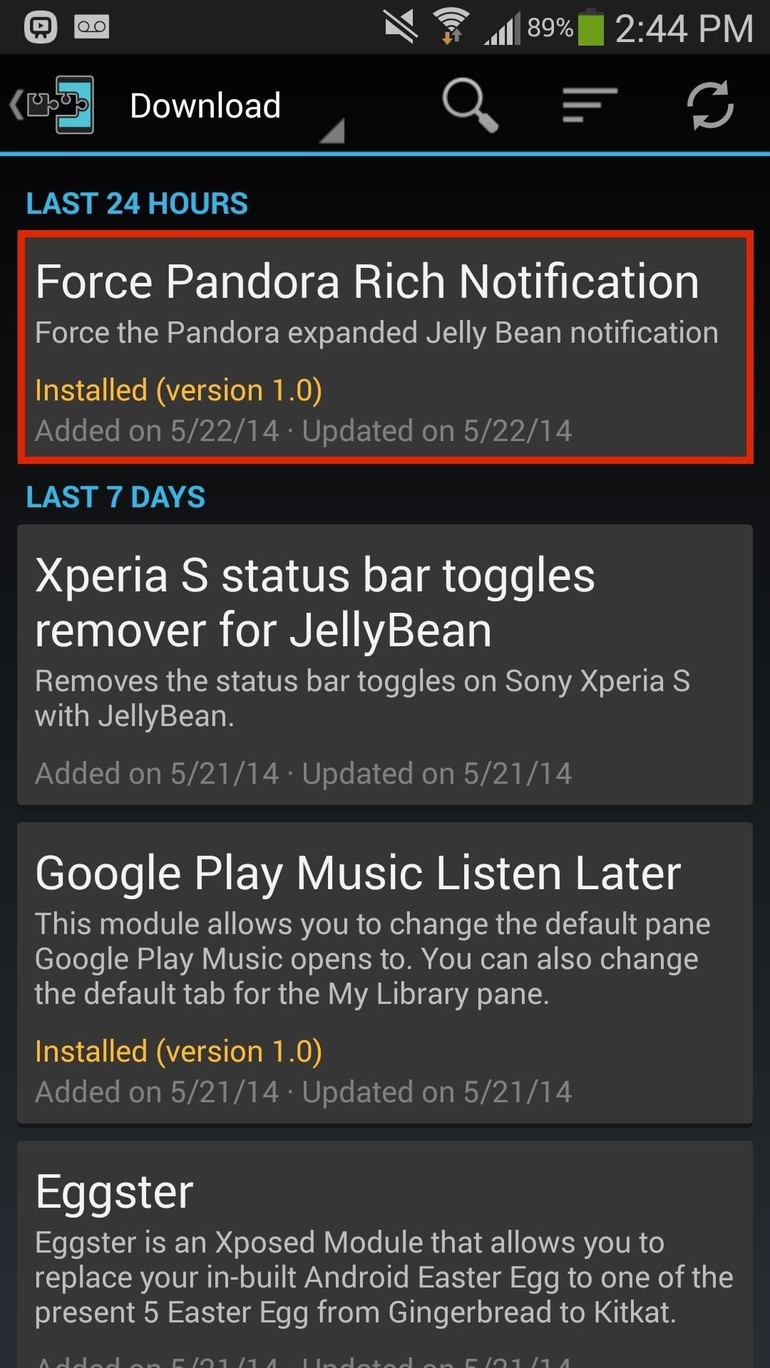pandora hacked apk download music