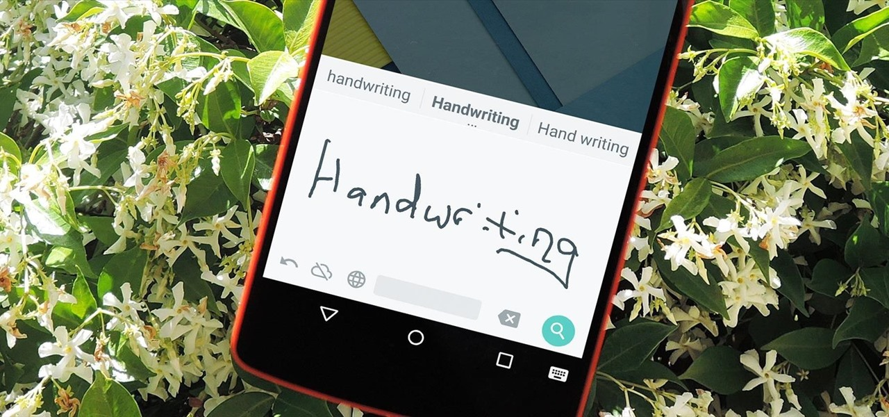 Use Your Own Handwriting to Enter Text on Android