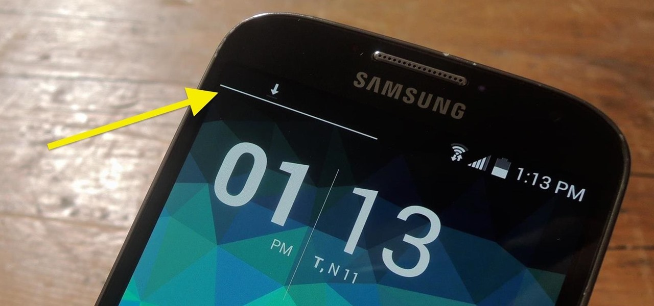 Add an Indicator for Download Progress to Your Android's Status Bar