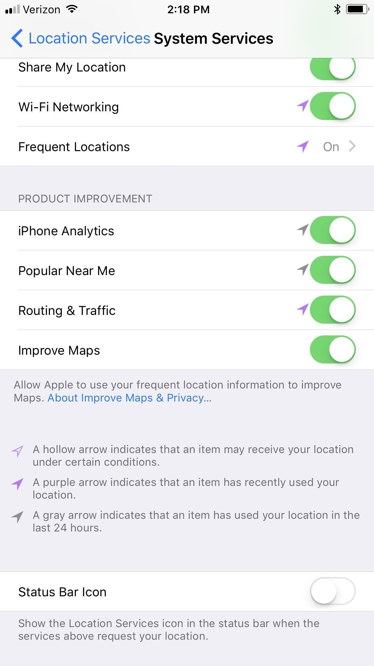 How to Prevent iOS 11 from Automatically Sharing Your Location with Apple