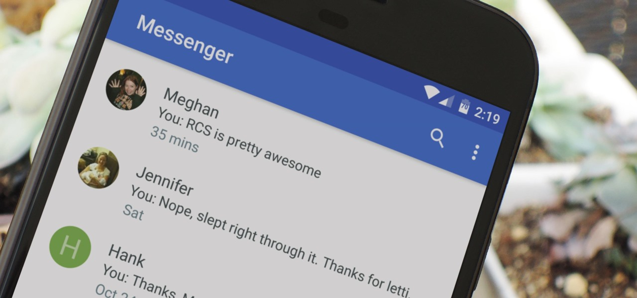 RCS Advanced Messaging Is Finally Bringing Next-Gen iMessage-Style Texting to Android—But Only for Some