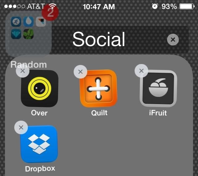 How to Add a Folder to a Folder in iOS 7 to Save Massive Amounts of Space on Your Home Screen