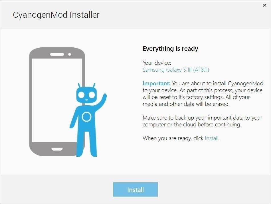 The Super Fast & Easy Way to Install CyanogenMod on Your Samsung Galaxy S3 (No Rooting)