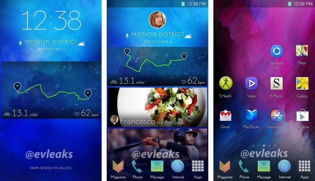Leaked Images of the Samsung Galaxy S5 Show Updated User Interface