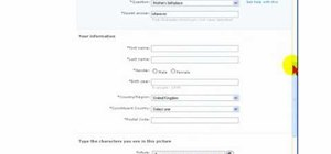 Create a new Hotmail e-mail account