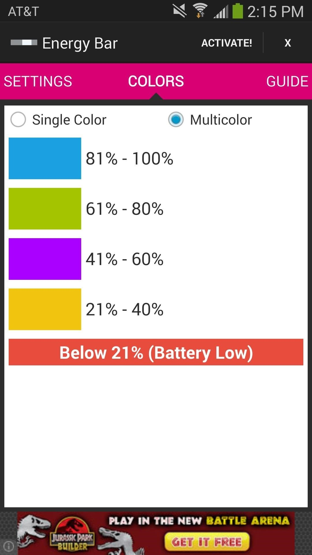 How to Add a Pulsating Battery Energy Bar to Your Samsung Galaxy Note 3
